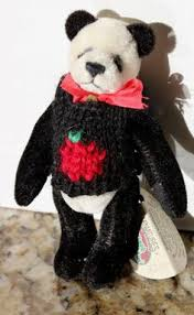 Cottage Collectibles By Ganz by Ganz Cottage Collectibles Teddy Bear Christmas Hollie Black