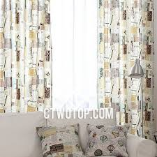Cool Curtains Postcard Cool Patterned Fancy Bedroom Beige And Brown Burlap