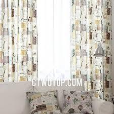 Brown Burlap Curtains Postcard Cool Patterned Fancy Bedroom Beige And Brown Burlap