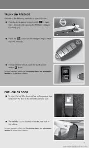 nissan altima coupe tire pressure nissan altima coupe 2011 d32 4 g quick reference guide