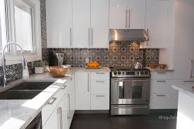 Wallpaper For Kitchen Backsplash Cut Tile Moroccan Kitchen Backsplash Polished Plaster Homed
