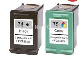 Famosos Einkshop compatible for hp 74 74xl 75 75xl Ink Cartridge For hp  #DA04