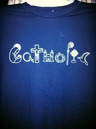catholic gifts and more catholic t shirt logo all things catholic
