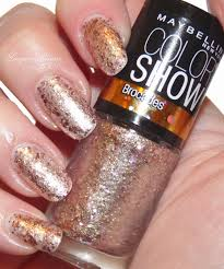 lacquer reverie maybelline color show brocades gilded rose