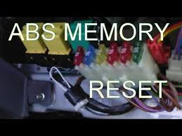 dodge ram abs light reset how to reset the abs light how to clear the fault code memory after