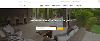 Responsive Real Estate Website Templates by Real Estate Website Templates 25 Examples U0026 How To Choose