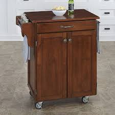 homestyles com shop home styles cherry scandinavian kitchen cart at lowes com