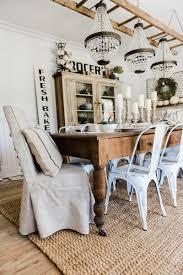 Farmhouse Dining Room Table by Simple U0026 Neutral Fall Farmhouse Dining Room Liz Marie Blog