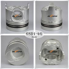china engine piston 6sd1t for isuzu auto spare part 1 12111 842 0