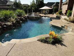 small backyard pools above ground for yards modern custom shaped