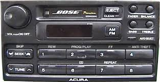 acura legend stereo removal tips