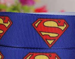 superman ribbon ribbon etsy nz