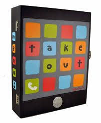 box for all your take out menus lying around take your pick