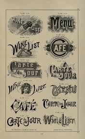 specimens of printing types ornaments border printy