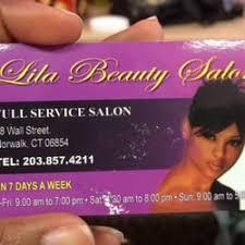 notwalk ct black hair lila s beauty salon hair salons 98 wall st norwalk ct