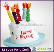 new premium 2017 silly happy birthday cake shaped hat buy happy