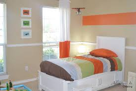 Orange Accent Wall by Bedroom Gray Bedrooms With Accent Colors Bedroom With Red