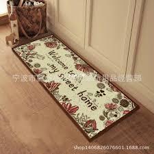 welcome mats kitchen anti slip carpet decorative jute bathroom mat