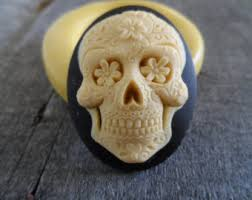 sugar skull molds skull silicone mold cameo mould for resin polymer clay