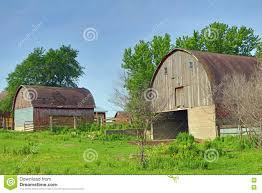 Small Barns Big Barn And Small Barn Stock Photo Image 72932277