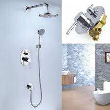 Shower Hose For Bathtub Faucet Concealed Rainshower Mixer Set Sanliv Kitchen Faucets And