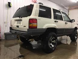 jeep cherokee rear bumper 93 98 zj rear bumpers kits u2013 gg custom metal fab
