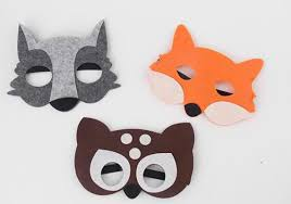 wolf mask party pack 3 zoo animal masks set kids masks kids costumes wolf