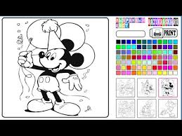 mickey coloring pages coloring pages kids