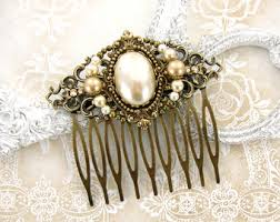 antique hair combs hair comb etsy