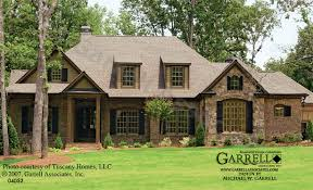 One Story Ranch House Plans Garrell Associates Inc Franciscan House Plan 04052 Front