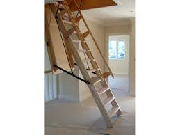telescoping attic stairs rail new folding attic stairs with