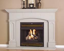 Fireplace Mantels Images by Amazon Com Abington Thin Cast Stone Adjustable Fireplace Mantel