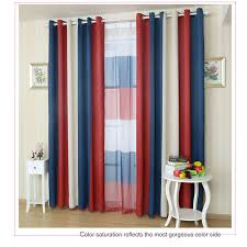 Red And White Striped Curtain Stylish Red And Blue Curtains And Red White And Blue Patriotic