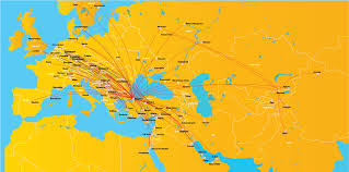 Air Canada Route Map by Our Network Pegasus Airlines