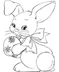 easter bunny coloring pages free printable depetta coloring