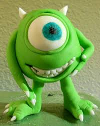 monsters inc cake toppers mike wazowski of monsters inc cake topper