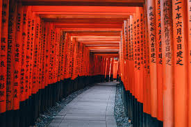 free images path architecture wall line red color japan