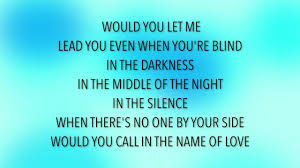 The Blind Side Of Love Martin Garrix U0026 Bebe Rexha In The Name Of Love Lyrics Youtube