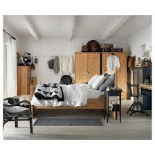 Ikea Hemnes Bed Frame Bedding Charming Hemnes Bed Frame Queen Ikea Slats 0174558 Pe3282