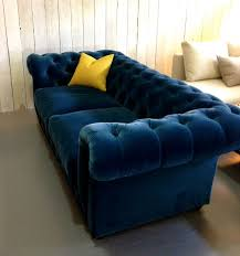 Blue Velvet Chesterfield Sofa Velvet Chesterfield Sofa Bed Glif Org