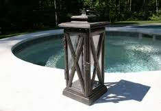 Patio Latern The Vienna Collection Cast Aluminum Outdoor Patio Furniture Lanterns