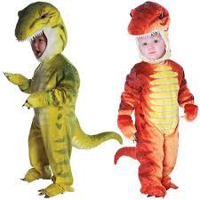 Kids Dinosaur Halloween Costume Baby Rex Costume Toddler Tyrannosaurus Raptor Dinosaur Halloween