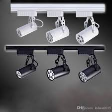 commercial track lighting systems 2018 indoor track lighting black white led track l 3w 5w 7w 12w