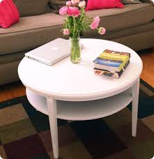 Round Dark Wood Coffee Table - best 10 of white wood round coffee table