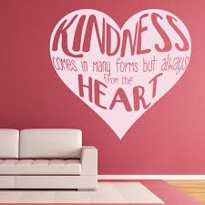 kindness comes in many forms love quote inspirational wall kindness comes in many forms love quote inspirational wall stickers home decals