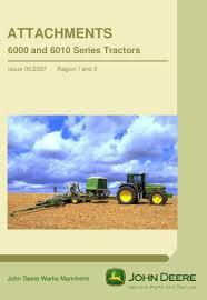 john deere 6000 6010 series tractor