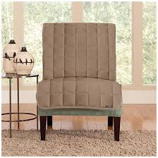 slipcovers for armless chairs sure fit quilted velvet furniture armless chair slipcover