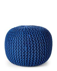 living accessories by knit pouf ottoman knit pouf pattern knit