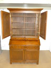 Chestnut Bookcase American Mission Roycroft Chestnut Secretary Bookcase Antique