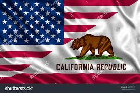 California State Flag Waving Flag Usa California State Usa Stock Illustration 428170777